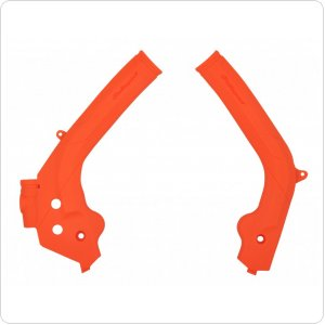 Защита рамы Polisport Frame protector for KTM [Orange]