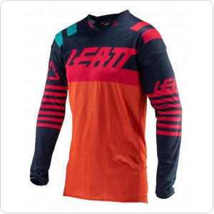 Мото джерси LEATT Jersey GPX 4.5 X-Flow [Inked/Red]