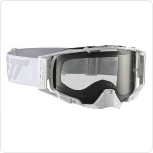 Мото очки LEATT GOGGLE VELOCITY 6.5 - LIGHT GREY 72% [White/Grey]
