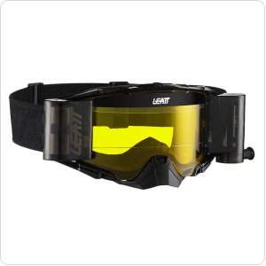Мото очки LEATT Goggle Velocity 6.5 Roll-Off - Yellow 65% [Black/Grey]