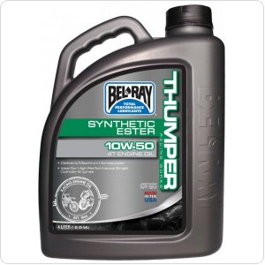 Мото масло моторное Bel Ray WORKS THUMPER RACING SYNTHETIC ESTER 4T [4л]