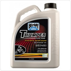 Мото масло моторное Bel Ray THUMPER RACING SYNTHETIC ESTER BLEND 4T 15W-50 4л