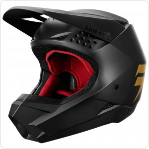 Мотошлем SHIFT WHIT3 HELMET [BLACK GOLD]