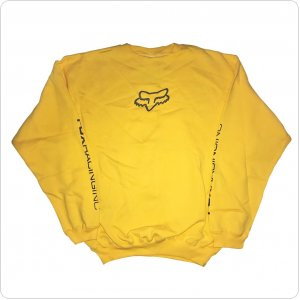 Кофта FOX Forever Fox Head Crew Fleece [Yellow]