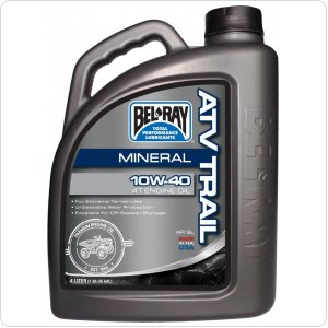 Мото масло моторное Bel Ray ATV TRAIL MINERAL 4T [4л]