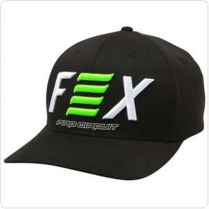 Кепка FOX PRO CIRCUIT FLEXFIT HAT [BLACK]
