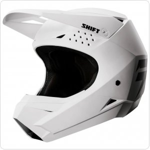 Детский мотошлем SHIFT YOUTH WHIT3 LABEL HELMET [WHITE]