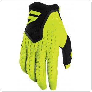 Мото перчатки SHIFT 3LACK PRO GLOVE [FLO YELLOW]