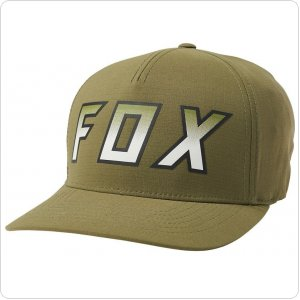 Кепка FOX HIGHTAIL IT FLEXFIT HAT [OLIVE GREEN]