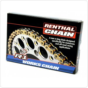 Цепь мото Renthal R1 - MX Works Chain 428-130L