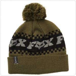 Шапка FOX OVERKILL BEANIE [OLIVE GREEN]