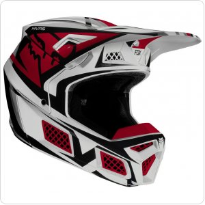 Мотошлем FOX V3 IDOL HELMET [LIGHT GREY]