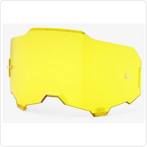 Линза к очкам 100% ARMEGA Replacement Lens YELLOW Anti-Fog