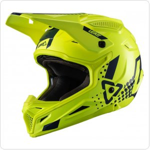 Мотошлем LEATT Helmet GPX 4.5 V20 [Lime]