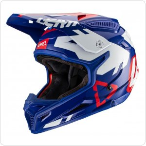Мотошлем LEATT Helmet GPX 4.5 V20 [Royal]