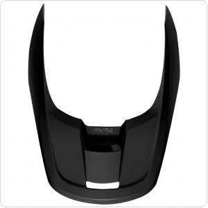 Козырек для мото шлема FOX MX19 V1 HELMET VISOR - MATTE [BLACK]