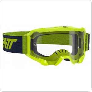 Мото очки LEATT Goggle Velocity 4.5 - Clear 83% [Neon Lime]