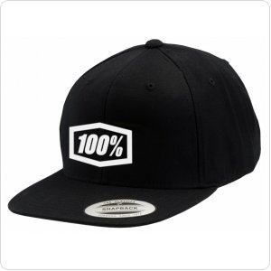 "Кепка Ride 100% ""Corpo"" Classic SnapBack Hat Black/White"