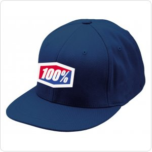 "Кепка Ride 100% ""ICON"" 210 Fitted Hat  Navy"
