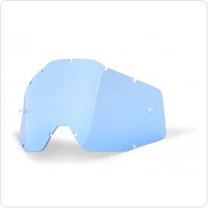 Линза к очкам 100% RACECRAFT/ACCURI/STRATA Replacement Lens Blue Anti-Fog