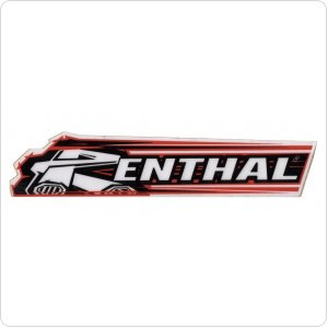 Наклейка Renthal Cycle Decal 100mm [RED]