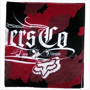 Полотенце FOX Shadow Beach Towel [Red]