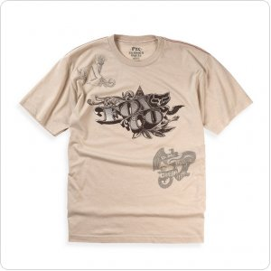 Футболка FOX Counterfeit Heathered s/s Tee серая