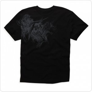 Футболка FOX Day 2 Day Tee Mens [BLACK]