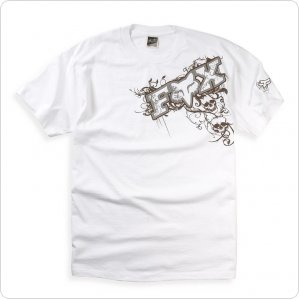 Футболка FOX Graveyard Tee [White]