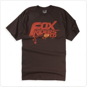 Футболка FOX Hanging Garden Tee [Brown]