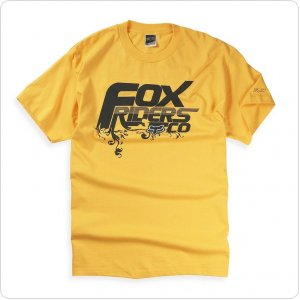 Футболка FOX Hanging Garden Tee [Yellow]