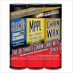 Комплект Maxima Chain Wax Ultimate Chain Care Combo Kit [3-Pack]