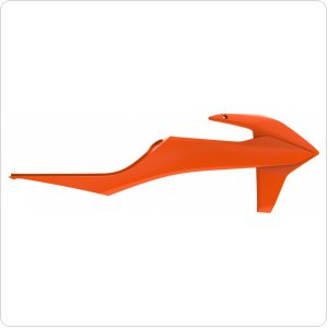 Боковины Polisport Radiator Scoops - KTM [Orange]