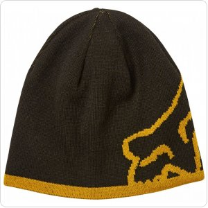 Шапка FOX STREAMLINER BEANIE [Black/Yellow]