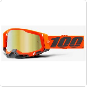 Мото очки 100% RACECRAFT 2 Goggle Kerv - Mirror Gold Lens