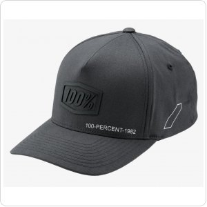 Кепка Ride 100% SHADOW X-Fit SnapBack Hat [Steel]