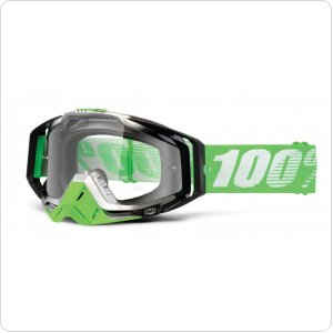 Мото очки 100% RACECRAFT Goggle Organic - Clear Lens