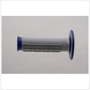 Мото грипсы Renthal MX Dual Compound Grips Dia/Waf Blue