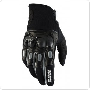 Мото перчатки Ride 100% Derestricted Glove [Black/Grey]