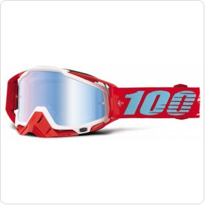 Мото очки 100% RACECRAFT Goggle Kepler - Mirror Blue Lens