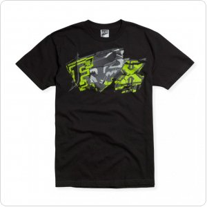 Футболка FOX Archives s/s Tee черная