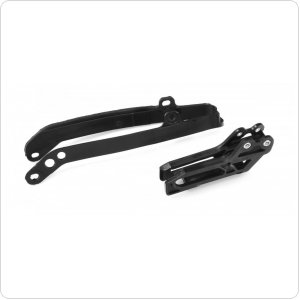 Polisport Chain guide + swingarm slider for YZ125/250 [Black]