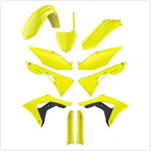 Пластик Polisport MX Complete kit for Honda CRF-R [Flo Yellow]