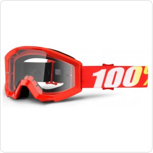 Детские мото очки 100% STRATA JR Goggle Furnace - Clear Lens