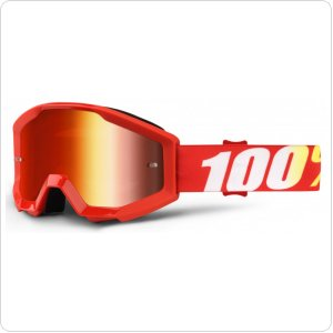 Мото очки 100% STRATA Goggle Furnace - Mirror Red Lens
