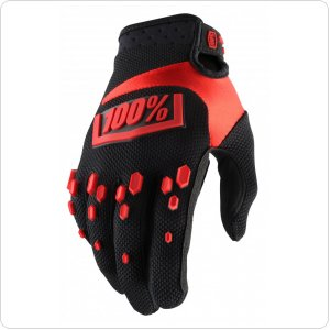 Мото перчатки Ride 100% AIRMATIC Glove [Black/Red]