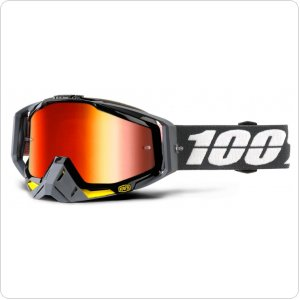 Мото очки 100% RACECRAFT Goggle Fortis - Mirror Red Lens