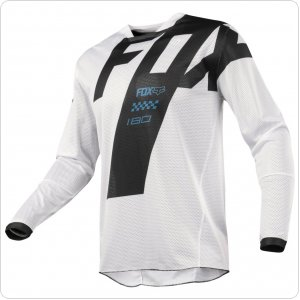 Мото джерси FOX 180 AIRLINE MASTAR JERSEY [WHT]