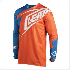 Мото джерси LEATT Jersey GPX 4.5 X-Flow [Org/Denim]
