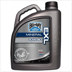 Мото масло моторное Bel-Ray EXL Mineral 4T Eng Oil [4л]